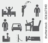 people icons | Shutterstock .eps vector #326167340