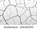 white face with black giant on... | Shutterstock . vector #326181593