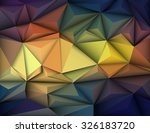 vector illustration abstract 3d