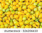 Ripe Yellow Pear Shaped...