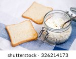 sandwich with cheese on a... | Shutterstock . vector #326214173