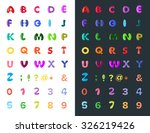 color font   Shutterstock .eps vector #326219426