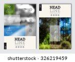 business brochure design... | Shutterstock .eps vector #326219459