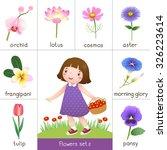 illustration of printable... | Shutterstock .eps vector #326223614