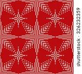 christmas seamless knitted...   Shutterstock .eps vector #326232359
