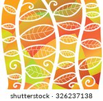abstract hand drawn forest... | Shutterstock .eps vector #326237138