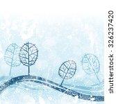 winter background | Shutterstock .eps vector #326237420