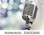 microphone. | Shutterstock . vector #326252606