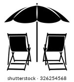 Adirondack Chair Vector