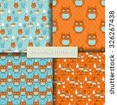 halloween vector seamless... | Shutterstock .eps vector #326267438