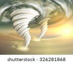 Two Realistic Tornado Swirls...