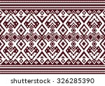 geometric ethnic pattern design ... | Shutterstock .eps vector #326285390