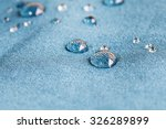 waterproof fabric with... | Shutterstock . vector #326289899