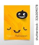 halloween pumpkin  | Shutterstock .eps vector #326309078