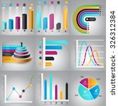infographics design templates... | Shutterstock .eps vector #326312384