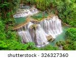 landscape huai mae kamin...   Shutterstock . vector #326327360