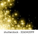 snowflakes and stars blue... | Shutterstock . vector #326342099