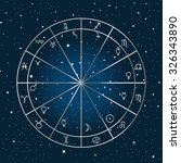 astrology background with...
