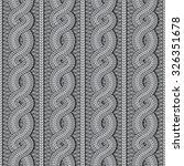 vector seamless grey christmas... | Shutterstock .eps vector #326351678