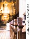 Church Interior. Christian...