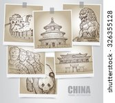 Illustration Of China. China...