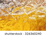 abstract gold creative... | Shutterstock . vector #326360240