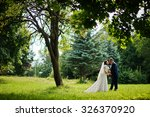 Lovely Newlywed At Nature Park...