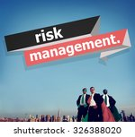 risk management investment... | Shutterstock . vector #326388020
