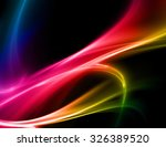 abstract beautiful colorful... | Shutterstock . vector #326389520