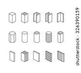metallurgy products vector line ...   Shutterstock .eps vector #326390159