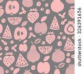fruit seamless pattern. surface ... | Shutterstock .eps vector #326391656