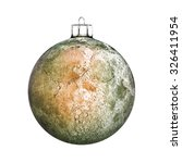 perfect christmas ball isolated ... | Shutterstock . vector #326411954