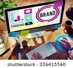branding marketing advertising... | Shutterstock . vector #326415560