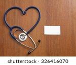 stethoscope  | Shutterstock . vector #326416070