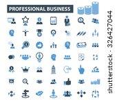 professional business  finance... | Shutterstock .eps vector #326427044