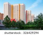 new high rise residential... | Shutterstock . vector #326429294