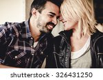 Small photo of Happy relationship. Love.