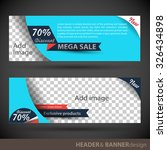 banner template   Shutterstock .eps vector #326434898