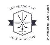Golf Academy Vintage Logo ...