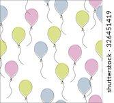 balloon background | Shutterstock .eps vector #326451419
