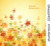 abstract mosaic backgrounds | Shutterstock .eps vector #326459960