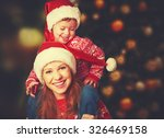 happy family mother and baby... | Shutterstock . vector #326469158