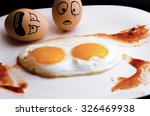 sad egg   Shutterstock . vector #326469938