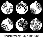 christmas balls . new year... | Shutterstock .eps vector #326484830
