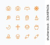 halloween icons for web and...