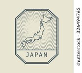 Stamp With The Name And Map Of...