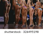 side view of beautiful girls in ... | Shutterstock . vector #326495198