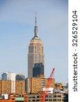 new york  usa   sep 25  2015 ... | Shutterstock . vector #326529104