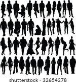 people  vector | Shutterstock .eps vector #32654278
