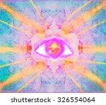 Illustration Of A Third Eye...